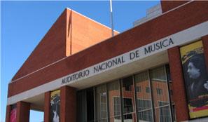 Fachada del Auditorio Nacional